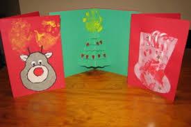 easy homemade christmas cards for kids