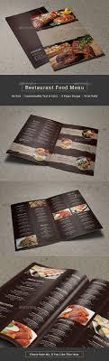 pages menu template best 25 restaurant menu template ideas on menu