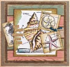 tim holtz cling rubber st set mini blueprints 6