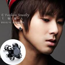 black stud earrings for men earrings pastal names