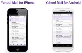 yahoo app for android yahoo mail for iphone now available android app updated with new