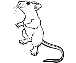 mouse template crafts