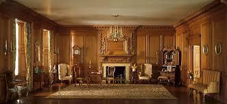 living room in mansion chicago postcard museum special exhibit the art institute of