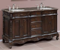 double bowl sink vanity wondrous black gloss acrylic 60 inch double sink vanity added 9