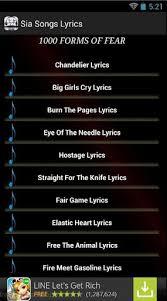 Sia Chandelier Free Download Sia Chandelier Download Sia Chandelier 1 0 Android Free
