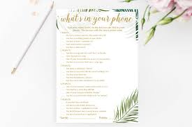 Words Of Wisdom Bridal Shower Game Tropical Bridal Shower Games Your Guests Will Want To Play