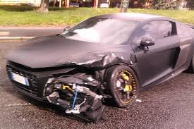 audi costly car 10 costly car crash fails