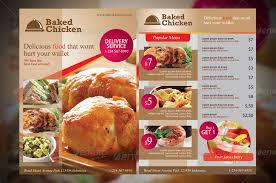 menu flyer template download free restaurant flyer psd templates