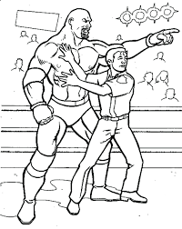 wwe wrestling coloring pages all wrestlers raw logo printable sin