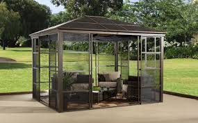 Gazebos For Patios Outdoor Hardtop Patio Gazebo Grande Room Buying Hardtop Patio