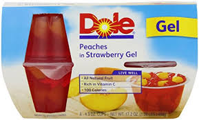 dole fruit bowls dole fruit bowls in strawberry gel 4 3 oz 4 cups food