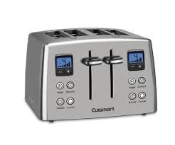 Breville A Bit More 4 Slice Toaster Review Cuisinart Cpt 435 Countdown 4 Slice Toaster
