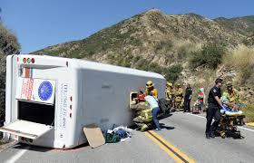 Six Flags Shuttle Bus San Bernardino Bus Crash Leaves 20 Injured 6 Seriously U2013 Orange