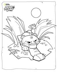 animal jam coloring pages tiger printable coloring sheets