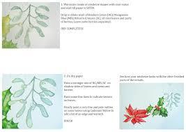 how to paint a christmas wreath u2013 watercolour demo u2013 alison