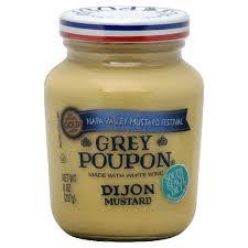 napa valley ground mustard poupon mustard dijon white wine