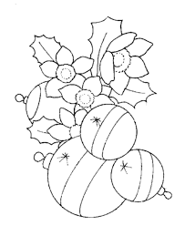 brand christmas balls decoration coloring pages free printable