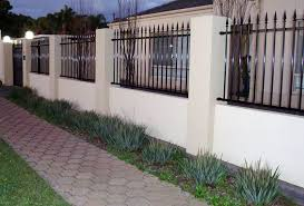Screen Walls Brick Fence Designs Fencing Pinterest Brick - Brick wall fence designs