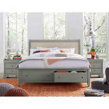 three piece bedroom set carlisle 3 piece king storage bedroom set