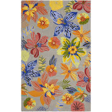 Orange And Grey Rugs Amazon Com Safavieh Four Seasons Collection Frs468c Hand Hooked