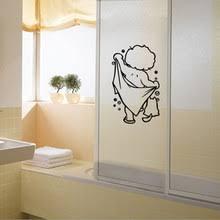 popular taking shower sticker buy cheap taking shower sticker lots