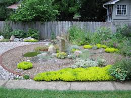 Backyard Gravel Ideas Building A Garden Walkway Gravel Pebbles Or Mulch Intended For How