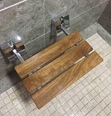 Teak Shower Seat Teak Shower Benches Nujits Com