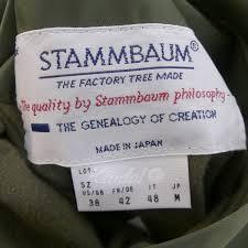 stammbaum co jp stammbaum journal srandard別注 2016aw シュタンバウム メンズ