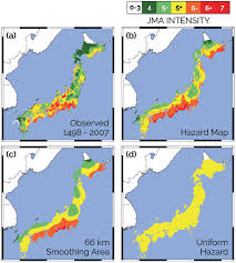 earthquake hazard map assessing how well earthquake hazard maps work insights from