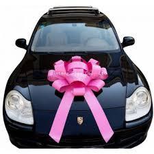 car bows car ribbon large car ribbon bow advertising