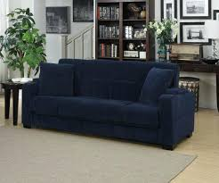 Cushy Sleeper Sofa Velvet Sleeper Sofa Stylish Cushy Gray Velvet Sleeper Sofa In