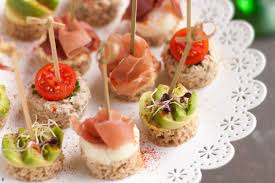 our favourite canapés to impress and delight your guests