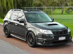 subaru forester lowered used 2010 reg grey subaru forester 2 0 xs 5dr auto for sale on