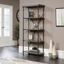 sauder canal street 5 shelf bookcase walmart com