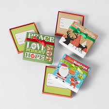 christmas gift card boxes christmas gift card box assorted target australia