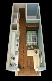 average studio apartment ironow