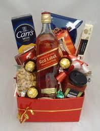 Scotch Gift Basket Christmas Dial A Basket