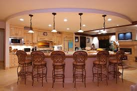 Kitchens With Bars And Islands Kitchen Room Kitchen Beauteous Kitchen Furniture Brown Wood