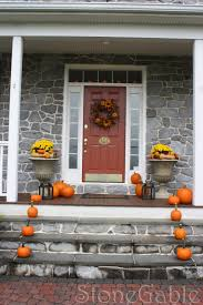 thanksgiving outdoor decorations outdoor fall decor stonegable