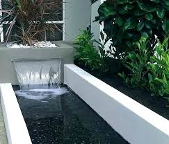 modern water features contemporary water features water feature in modern courtyard