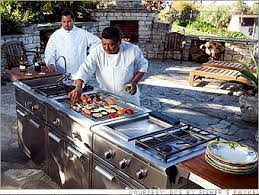 Backyard Hibachi Grill 5 Killer Outdoor Kitchens Dcs Grill Cart 5 Cnnmoney Com