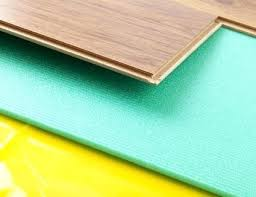 Laminate Flooring Thickness Laminate Floor Padding For Your House The Quietest One