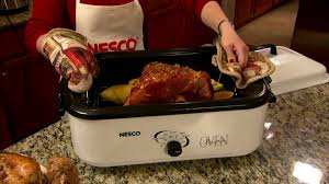 18 qt nesco roaster oven youtube