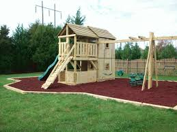 backyard playground hand crafted wooden playsets gallery