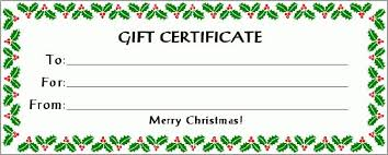 printable gift vouchers template click here for full size