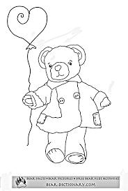 free teddy bear coloring toby u0027s free teddy bear coloring