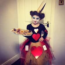 world book day queen of hearts costume made by me adoption
