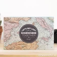 travel photo albums trip album let s get lost somewhere together mr wonderful