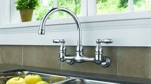 wall faucets kitchen the looking of wall mounted kitchen sink faucets cool