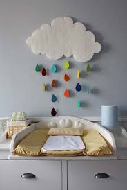Craft Ideas For Baby Room - gorgeous rain cloud mobile baby room decor home design garden